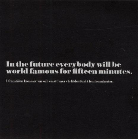 Joseph Kosuth-Andy Warhol, Art as Idea as Idea-1968