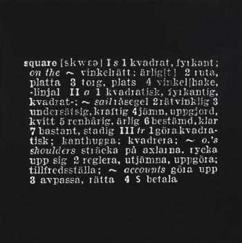 Joseph Kosuth-Art as Idea as Idea-1967