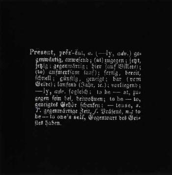 Joseph Kosuth-Art is Idea as Idea-1967