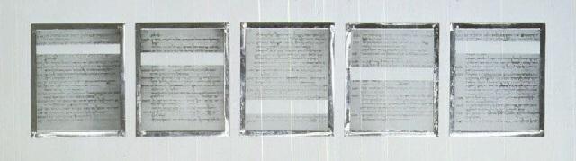 Joseph Kosuth-Five Missing Mistakes-1989