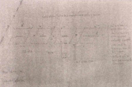 Joseph Kosuth-Four Titles Working Drawing-1966