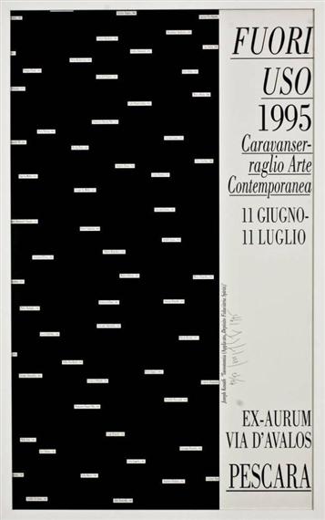 Joseph Kosuth-Fuori uso-1995