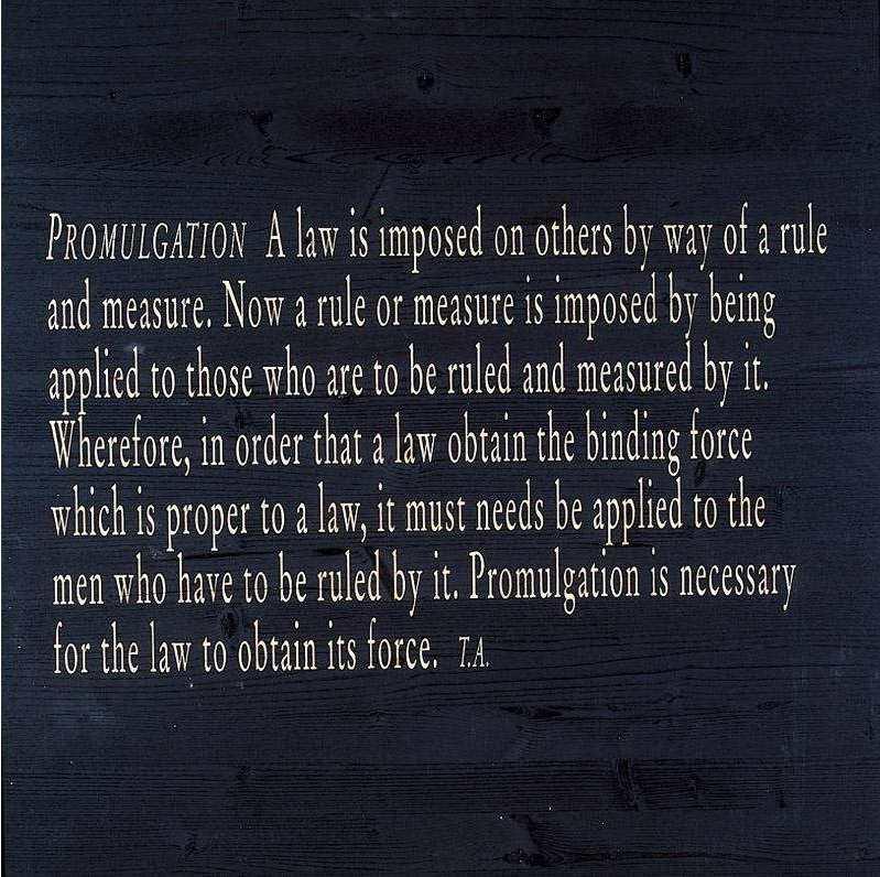 Joseph Kosuth-Lex and Ligare (VII-6)-2002