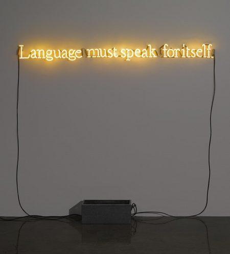 Joseph Kosuth-No Number No.3 (Yellow)-1991