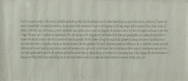 Joseph Kosuth-Ohne Titel-1994