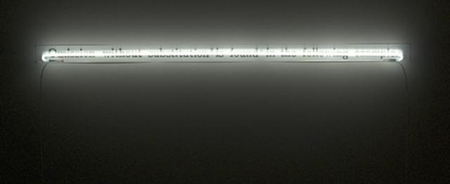 Joseph Kosuth-Omission Without Submission is Found in the Following Example-1987