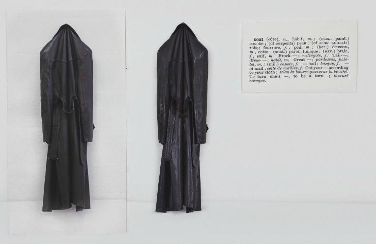 Joseph Kosuth-One and Three Coats-1965
