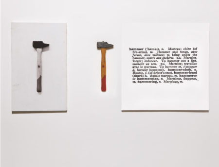 Joseph Kosuth-One and Three Hammers-1965