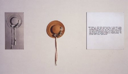 Joseph Kosuth-One and Three Hats-1965