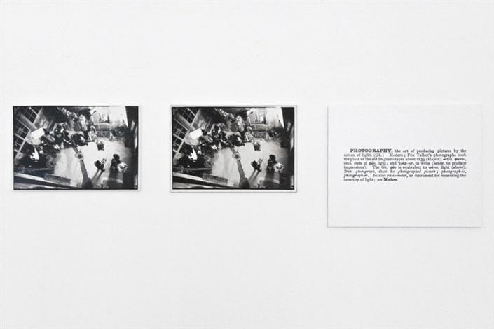 Joseph Kosuth-One and Three Photographs-1965