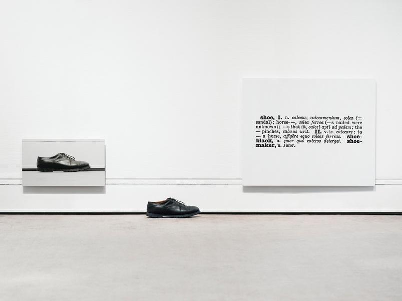 Joseph Kosuth-One and Three Shoes-1965