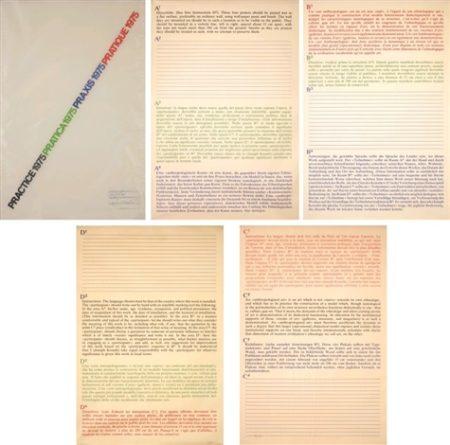 Joseph Kosuth-Practice-1975