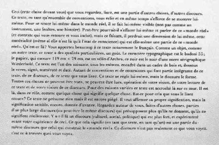 Joseph Kosuth-Text, Kontext (Conventional)-1978