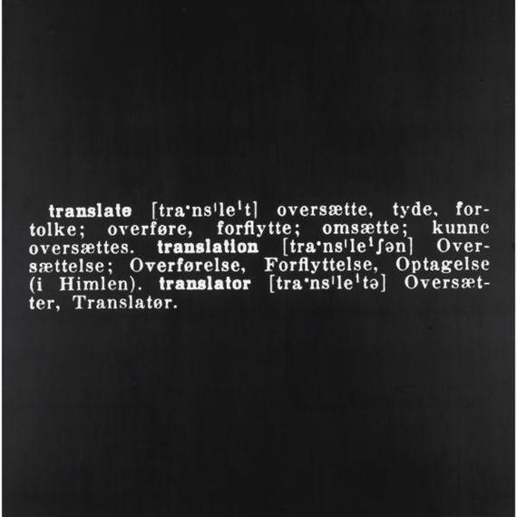 Joseph Kosuth-Titled (Art As Idea As Idea) [Translate]-1968