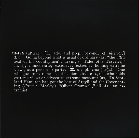 Joseph Kosuth-Titled (Art As Idea As Idea) [Ultra]-1967