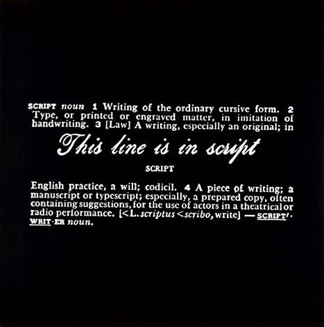 Joseph Kosuth-Titled (Art as Idea as Idea)-1967