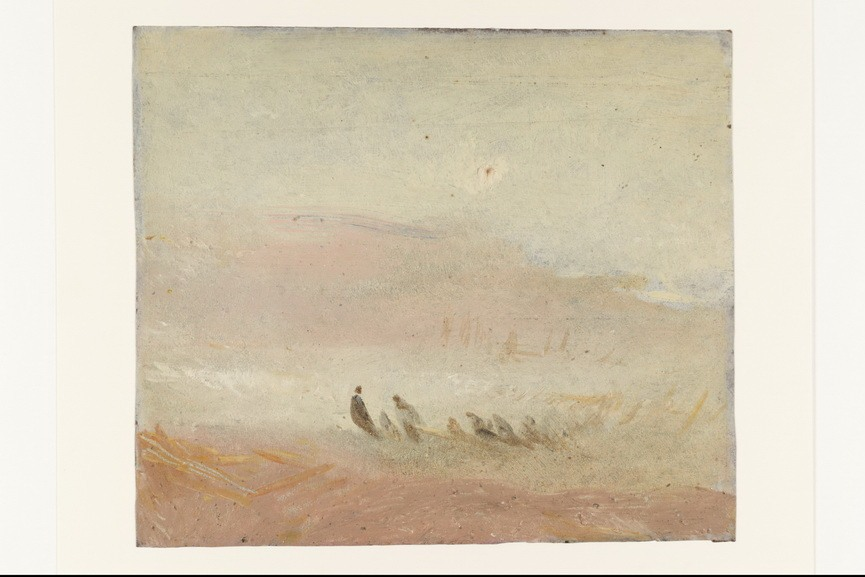 Joseph Mallord William Turner - Figures on a Beach