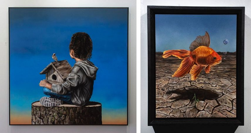 Joseph Renda Jr - A Place Called Home Framed Joseph Renda Jr - Beginning From an End