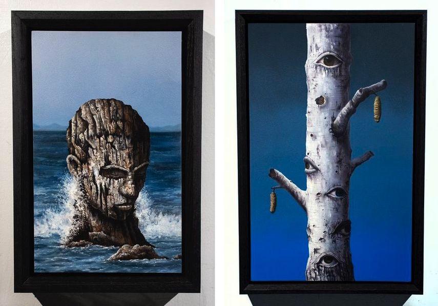Joseph Renda Jr - Forged Through Years of Rough Waters Low, Joseph Renda Jr - Gaze Framed Low