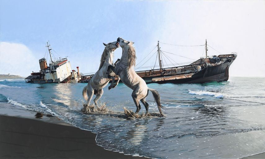 Josh Keyes - Till End Of World