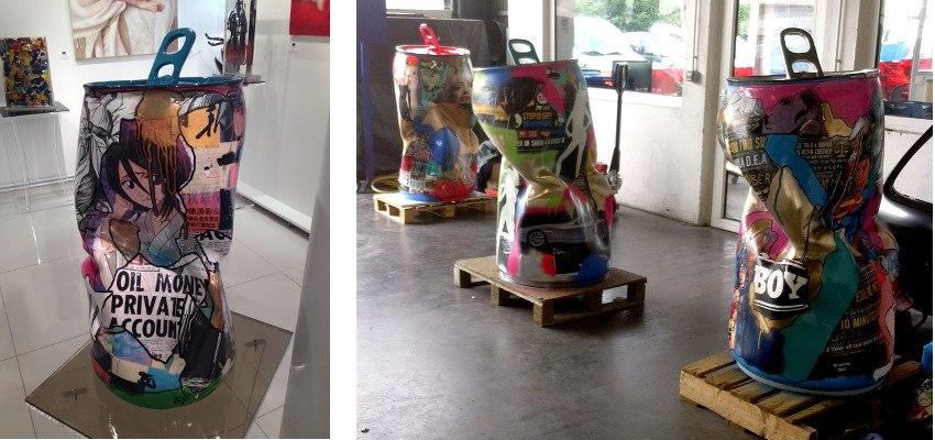 Joy - Popy Cans - installation view