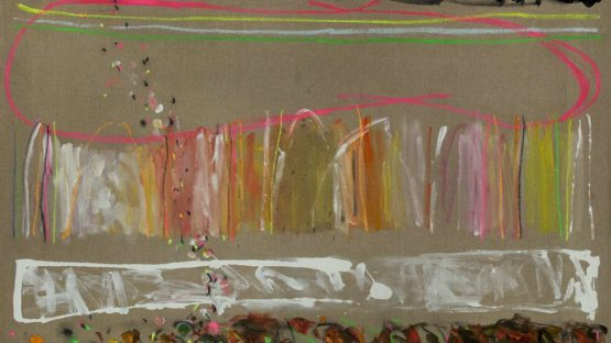 Joyce Weinstein - Country Fields with a Pink, 2014 (detail)