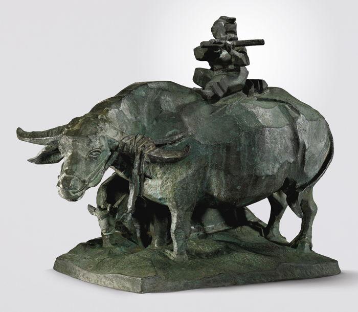 Ju Ming-Buffalo And Boy-1994