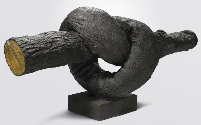 Ju Ming-Knot (Horizontal)-1985