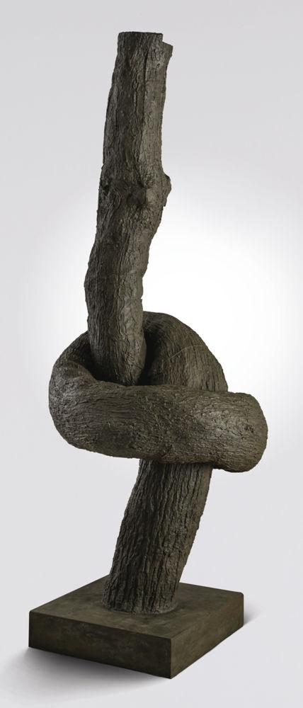Ju Ming-Knot (Vertical)-1985