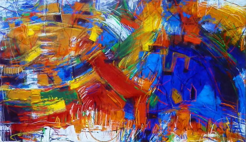 Zeballos' painting, 2013