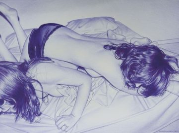 Double roman bed