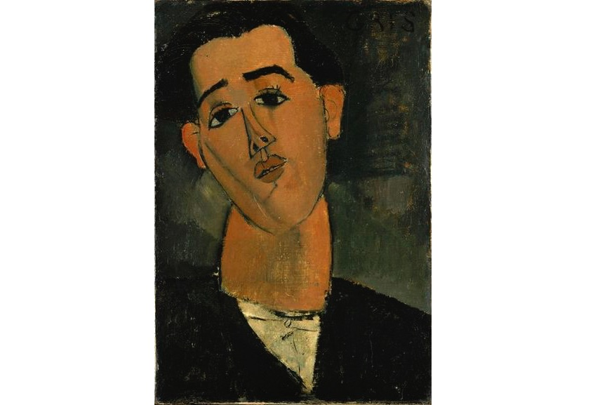Amedeo Modigliani - Juan Gris, 1915, modeled after picasso in paris