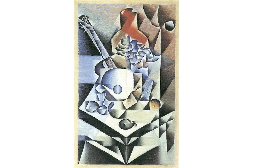 Juan Gris - Still Life with Flowers, 1912 - Image via pictoremcom