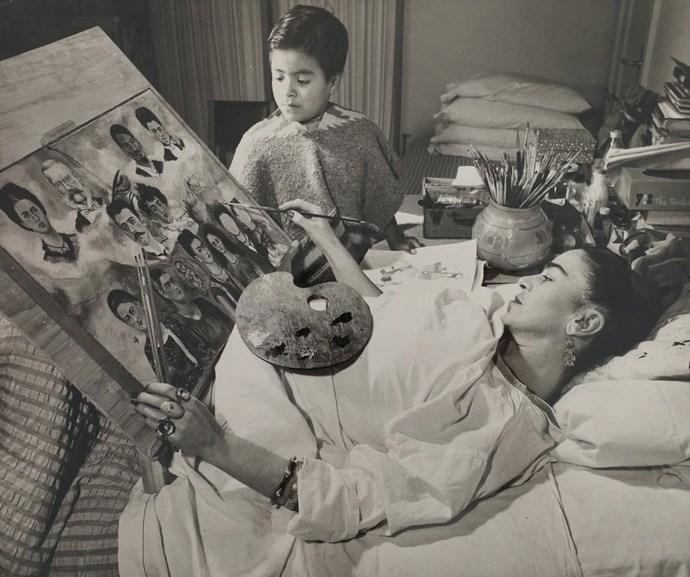 Juan Guzman - Frida at ABC Hospital sketching