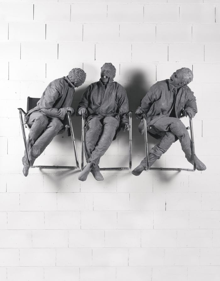Juan Munoz-Three Laughing At One-2000