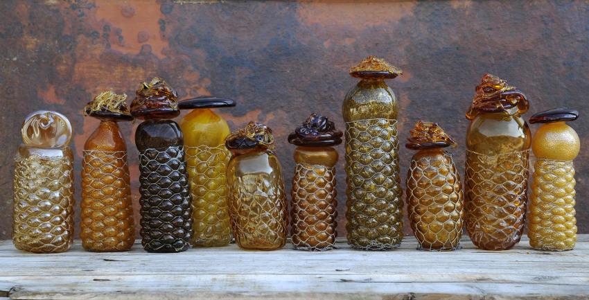 Judi Harvest - Honey Vessels, 2013, Photo by Matthew Klein