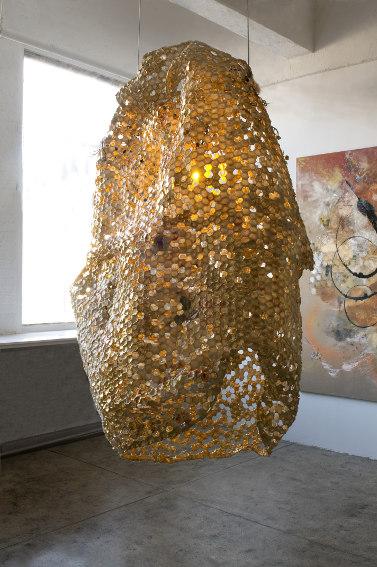 Judi Harvest - Monumental Beehive, 2008