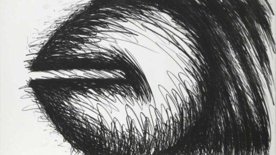 Judith Bernstein - Big Horizontal, 1976 (detail)