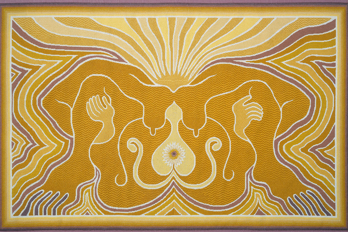 Judy Chicago - The Crowning NP 3, 1983