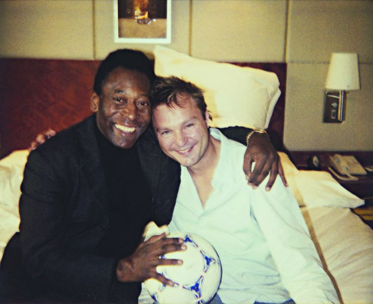 Pele and Me, London, 2003