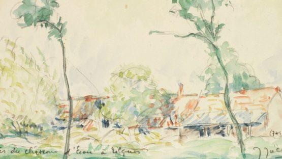 Jules-Arthur Joets – Près du château d'Ecou à Rilques – Image courtesy of Sylvan Cole Gallery