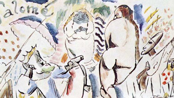 Jules Pascin - Salome (detail), modernism, modern art
