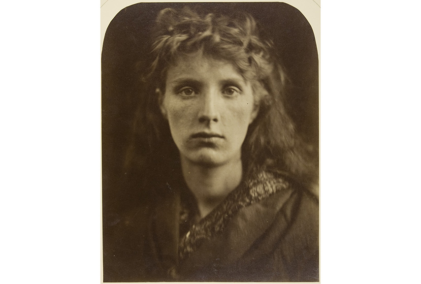 Julia Margaret Cameron - Post Mortem Mountain Nymph photograph, Sweet Liberty of Death Photos, 1866; Post mortem stands for doing something to someone after death