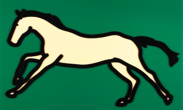 Julian Opie-Galloping Horse No. 2-2013