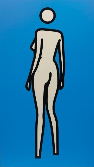 Julian Opie-Sara gets undressed. 32-2003