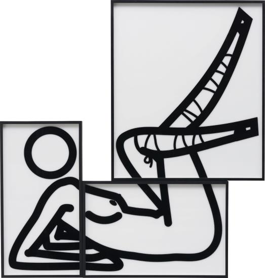 Julian Opie-This is Shahnoza in 3 parts (9)-2008