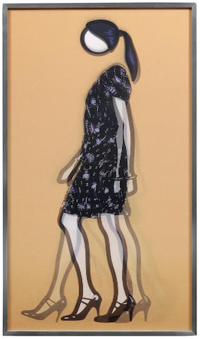 Julian Opie-Verity Walking.-2010