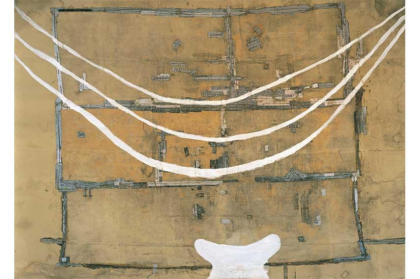 Julian Schnabel paintings