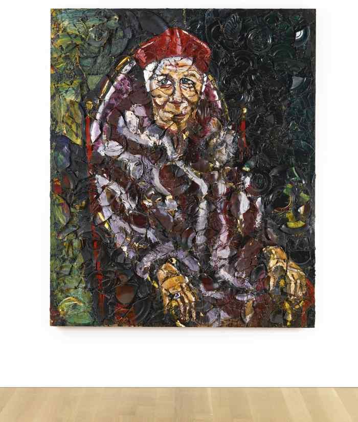 Julian Schnabel-Untitled (Mary Heilmann)-1987