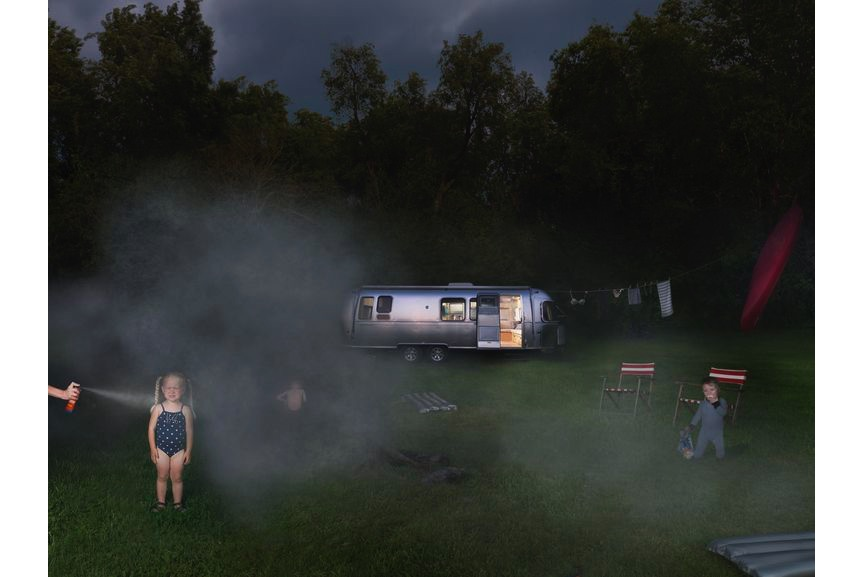 Julie Blackmon - Airstream, 2011